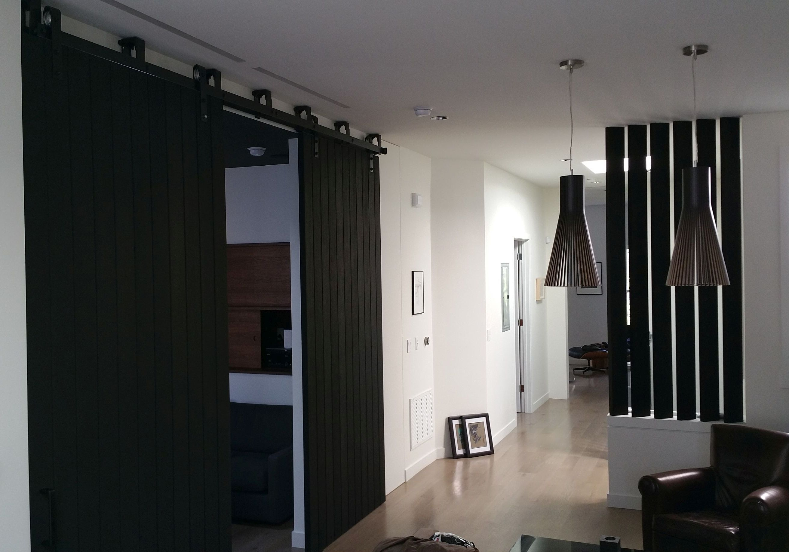 black oak sliding barn doors & Designer Doors | Modern Doors for Sale