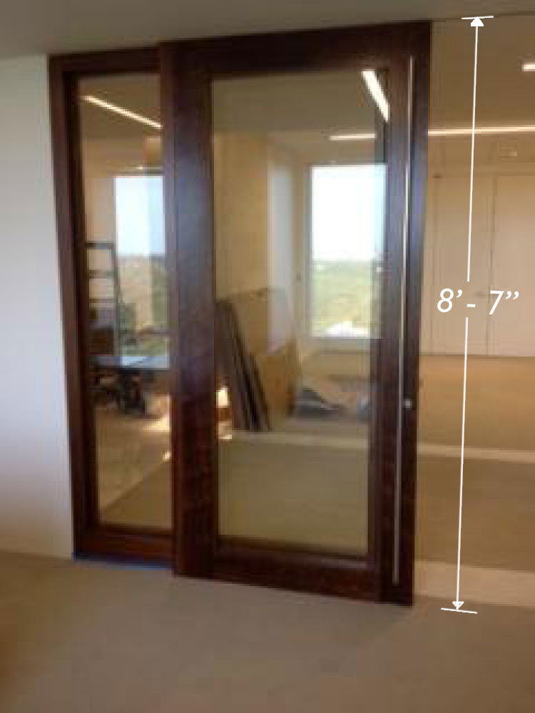 Large sliding door oversize office french door sliders for Oversized exterior doors for sale