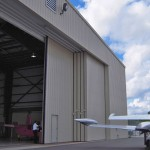 Large oversize sliding hangar doors moder doors for sale