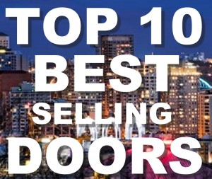 Top 10 best selling doors