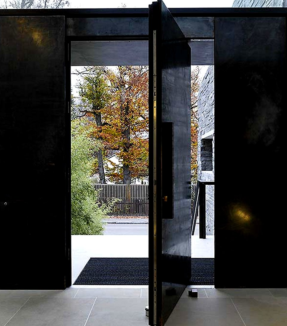 Modern exterior doors modern doors for sale for Large front entry doors
