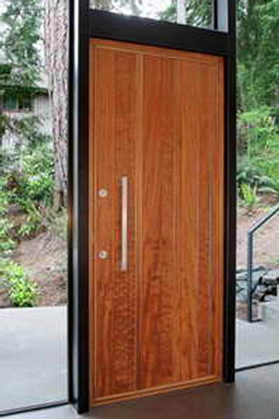 Modern exterior doors modern doors for sale for Large wooden front doors