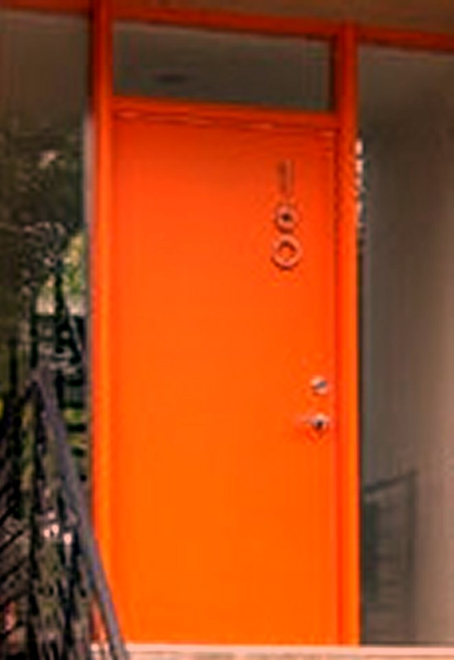 Modern Outswing Exterior Door