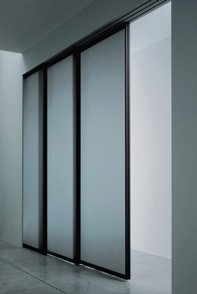Interior sliding doors modern modern interior doors for Modern sliding doors