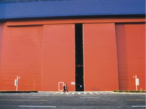 Big industrial non warping exterior large sliding doors insulated weatherproof watertight