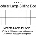 Modular Large Sliding Doors