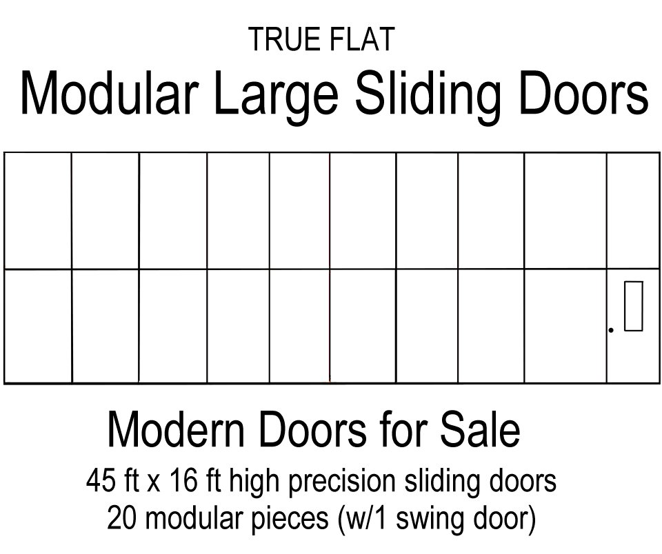 Modular large sliding doors modern doors for sale - Oversized exterior doors for sale ...