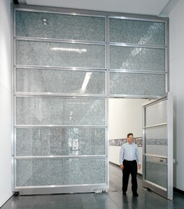 large pivot doors