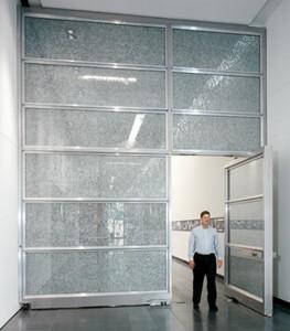 large pivot doors