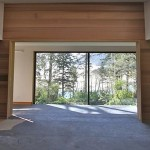 15 ft. x 9 ft. Wood Double Sliding Door