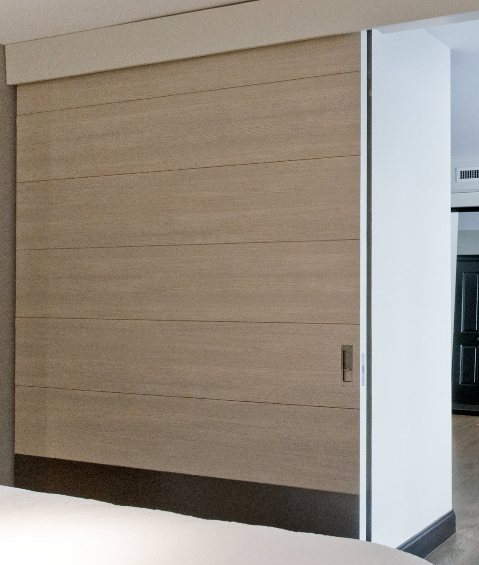 Matching white oak large sliding doors modern doors for sale for Large sliding glass doors for sale