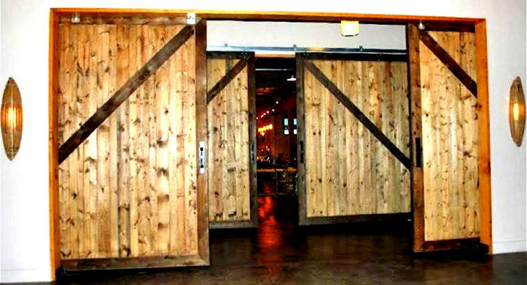 interior barn doors large sliding barn doors interior design